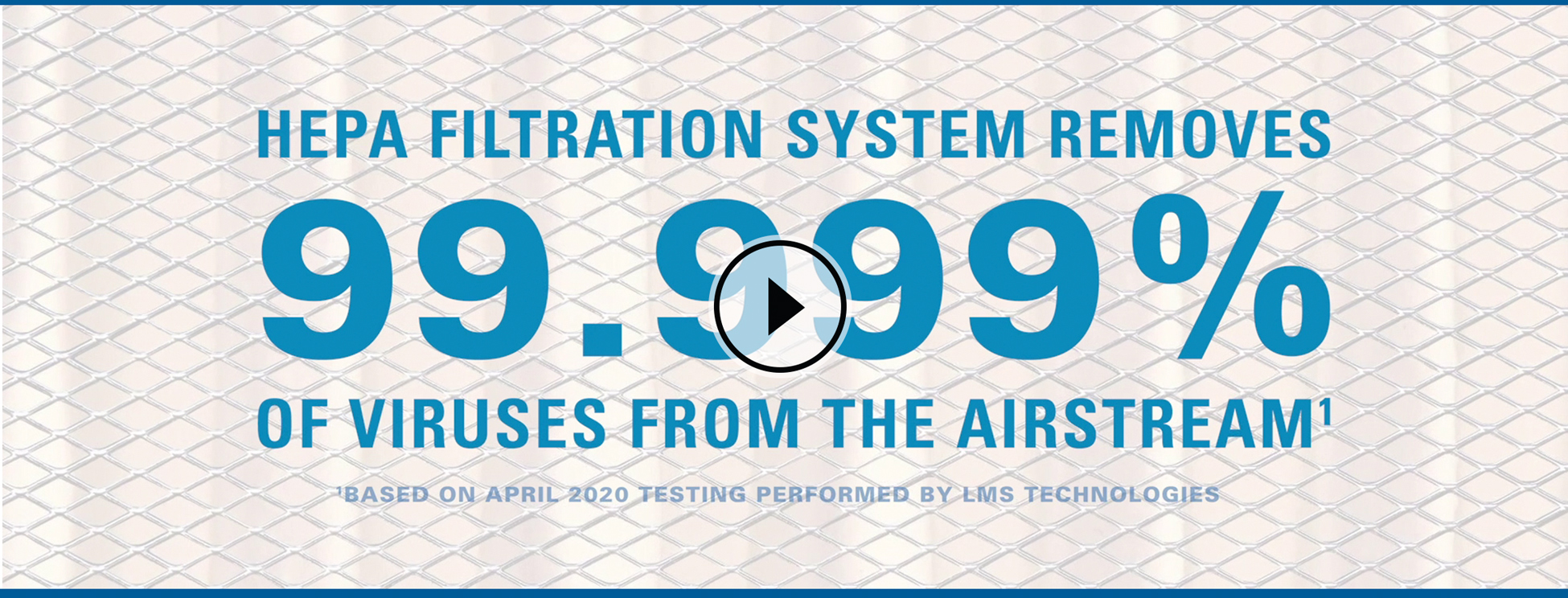 HEPA Filtration Video Pause Screen. Click to Play.