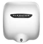 XLERATOR XL-W Hand Dryer White Epoxy Painted Cover